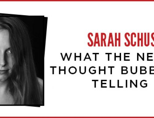 What the Negative Thought Bubbles Are Telling Me – Sarah Schuster